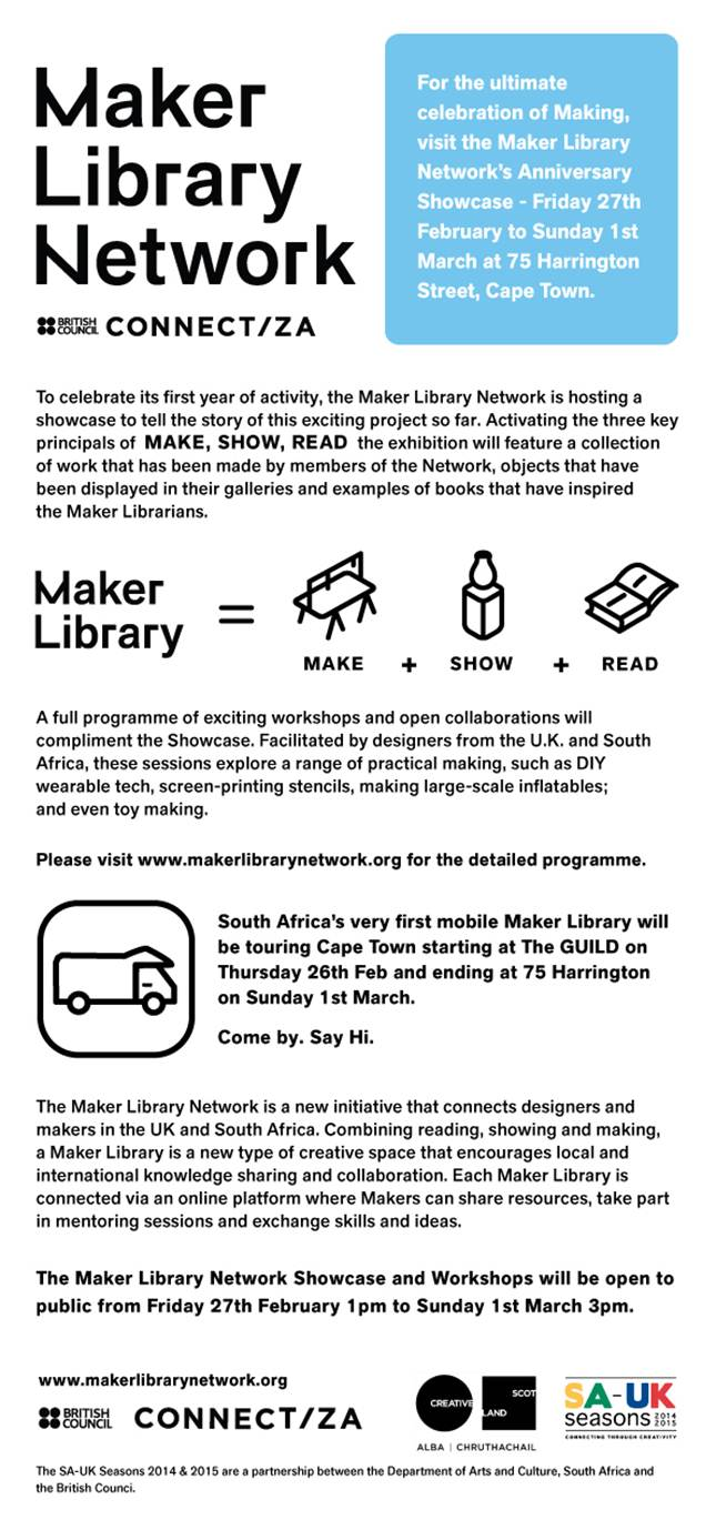 Khama Maker Library Network By The British Council